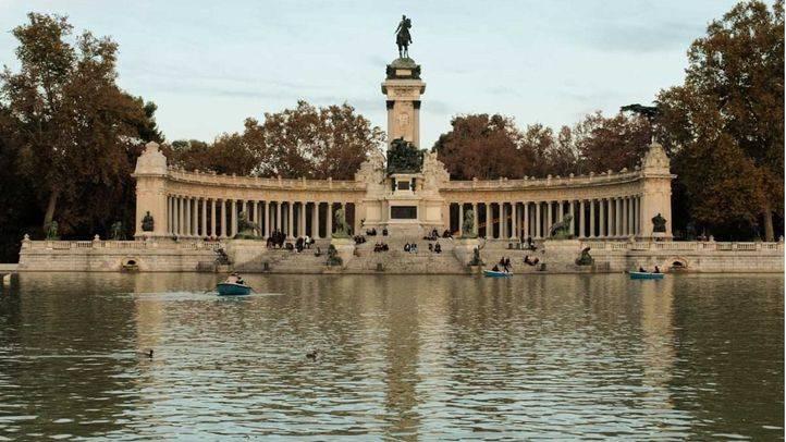 El Ayuntamiento cierra el parque de El Retiro debido a las fuertes rachas de viento