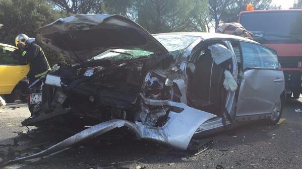 Un total de 58 personas murieron en 2015 por accidentes de tráfico en la Comunidad de Madrid