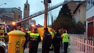 Muere un niño de seis años en un incendio en Madrid