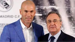 Florentino Pérez destituye a Benítez y Zidane será su sustituto