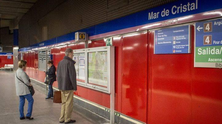 Estación Mar de Cristal. (Archivo)
