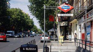 Reforma de la calle Alcalá: aceras más amplias y menos espacio para el coche