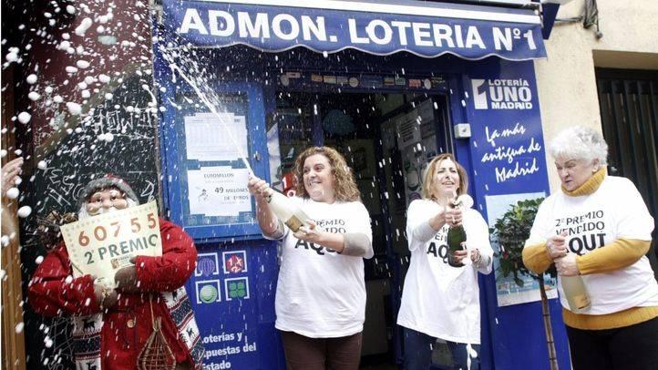 Los 33 millones del segundo premio del sorteo del Niño caen en Chamberí
