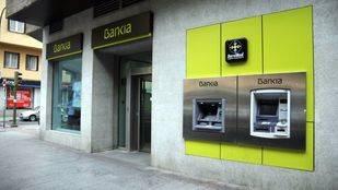 Sucursal de Bankia con cajeros automáticos