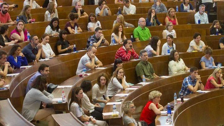 Examen de oposición (archivo).