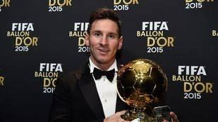 Messi consigue su quinto Balón de Oro