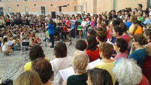 Coro en Malasaña (Gastrofestival Madrid 2015)