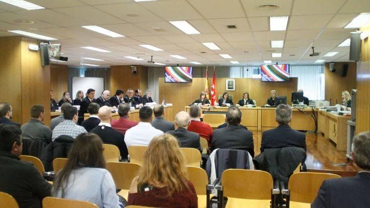 Sala 0 de la Audiencia Provincial donde se juzga el caso Madrid Arena.