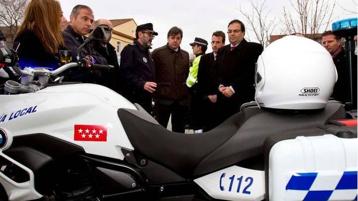 Nuevas motos Policía de Leganés