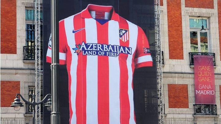 Camiseta de Atlético de Madrid (archivo)