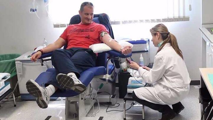 El Maratón de Donación de sangre del Hospital de Torrejón supera el centenar de donaciones