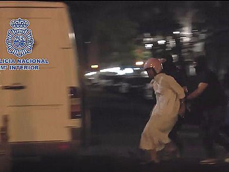 Detención de los yihadistas en Madrid