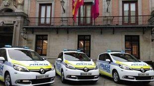 Nuevos coches de Policía Municipal de Madrid (archivo).