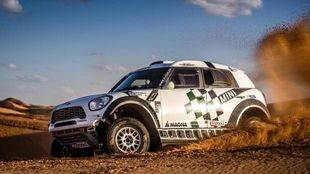 Mikko Hirvonen se estrena en el Dakar