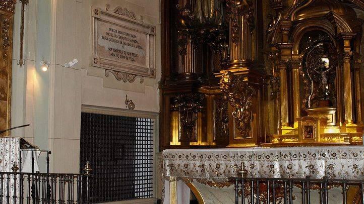 La cripta donde descansa Cervantes se podrá visitar después de investigar los restos de niños encontrados