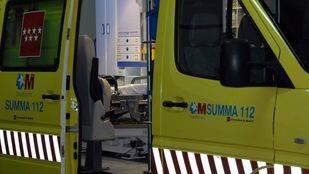 Un obrero en estado grave tras caerse de un andamio en Collado Villalba