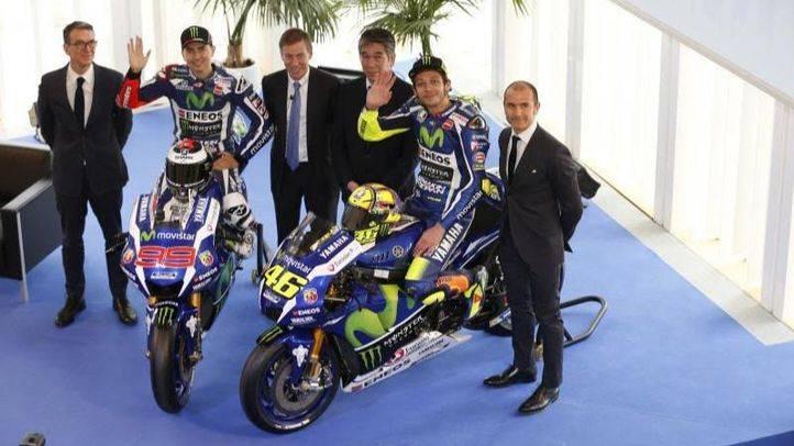 Jorge y Valentino se vuelven a ver las caras en la presentación de sus motos 2016