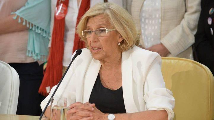 Carmena participa en Chile en una conferencia sobre política con perspectiva femenina