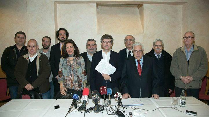Asociaciones de comerciantes y vecinos firman el convenio para pedir al Ayuntamiento la consecución del proyecto Distrito Castellana Norte.