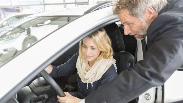 Las ventas de coches continuan creciendo