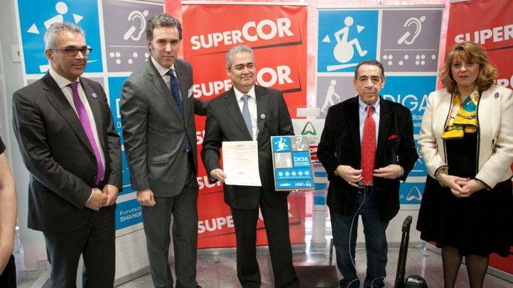 Madrid ya tiene el primer supermercado totalmente accesible