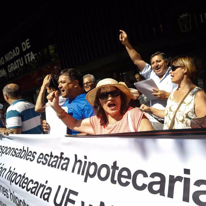 La PAH se desvincula de una protesta bajo sus siglas contra el Colegio de Abogados de Madrid