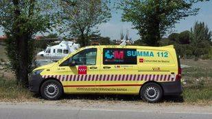 Ambulancia del Summa. (Archivo)