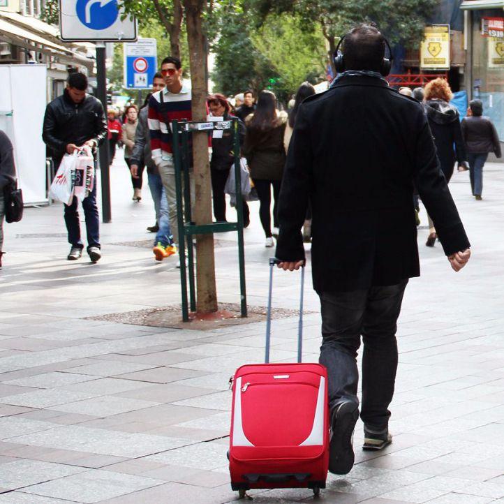 Turistas en Madrid (archivo)