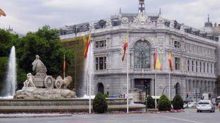 El Banco de España comienza a despejarse de andamios