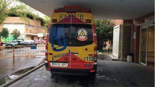 Ambulancia del Samur. (Archivo)
