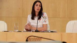 Rita Maestre, en la rueda de prensa posterior a la Junta de Gobierno