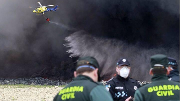 El empresario investigado por el incendio de Seseña niega rencillas familiares