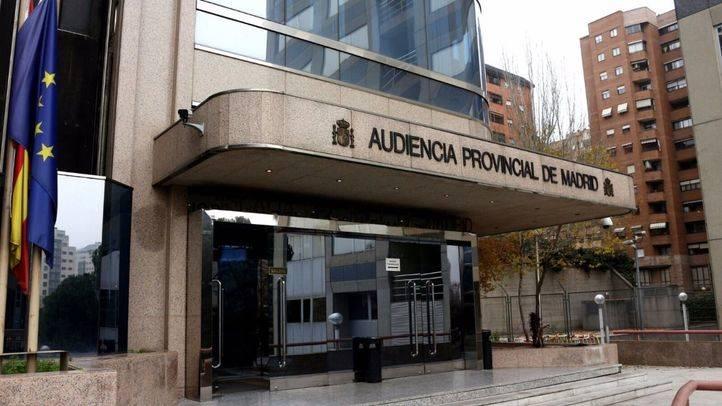 Foto de archivo de la Audiencia Provincial de Madrid.