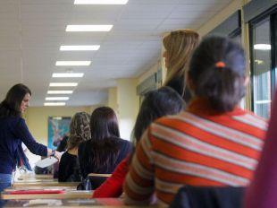 Foto de archivo de oposiciones para ser maestro