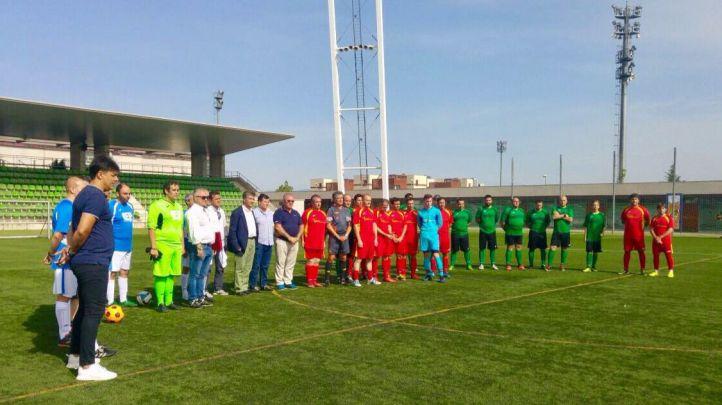 Partido de fútbol en honor a las víctimas del terrorismo