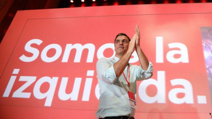 Pedro Sánchez, en el 39 Congreso Federal del PSOE