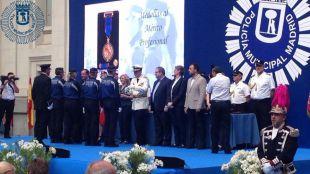 Acto solemne de la Policía Municipal de Madrid por su Patrón