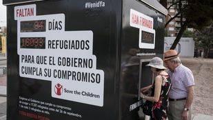 Menos de cien días para recibir 17.337 refugiados en España