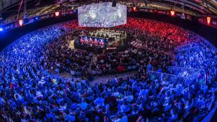 Final del LOL en la Gamergy 2016