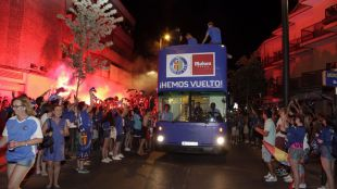 Getafe celebra su ascenso a 1ª División