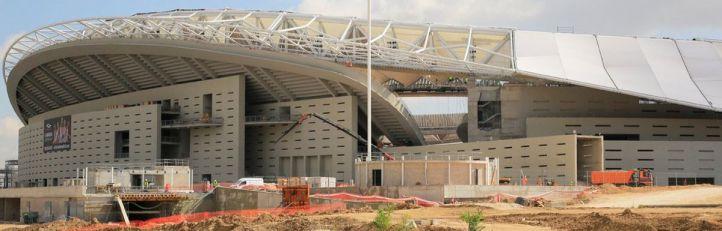 El nuevo nombre de 'Estadio Metropolitano' ya luce en la rotulación de la estación