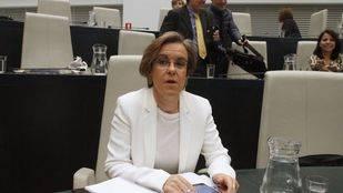 Purificación Causapié, portavoz del grupo municipal socialista en el Ayuntamiento de Madrid.