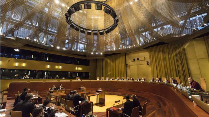 Vista general de la Gran Sala del Tribunal de Justicia Europeo