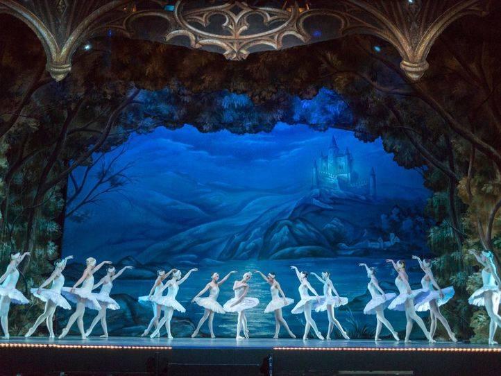 'El lago de los cisnes', en el Teatro Gran Vía.