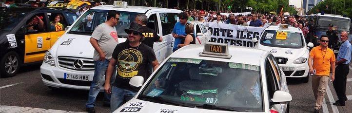 Los taxistas irán a la huelga el jueves y el viernes
