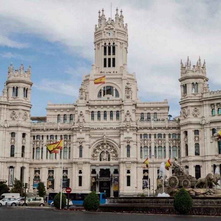 Foto de archivo de la sede del Ayuntamiento de Madrid, en Cibeles.