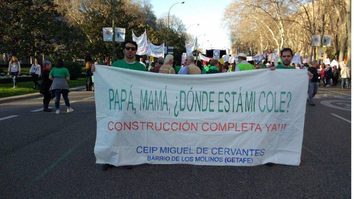 Los padres del Miguel de Cervantes se movilizan este jueves (archivo)