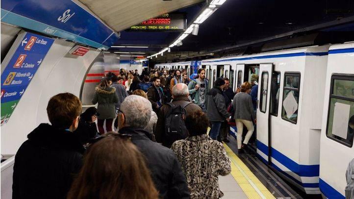 Huelga del Sindicato de Maquinistas de Metro