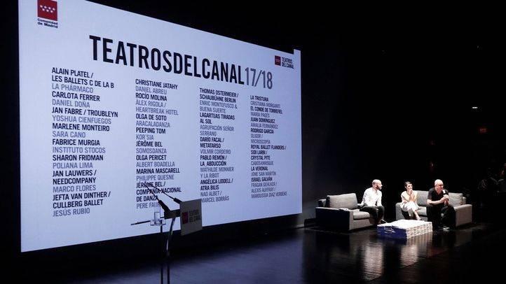 Presentación de la temporada 2017/18 de los Teatros del Canal.