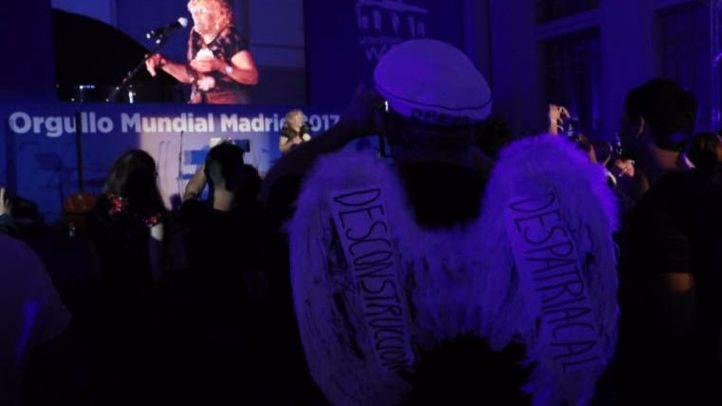 El Palacio de Cibeles también inaugura el World Pride